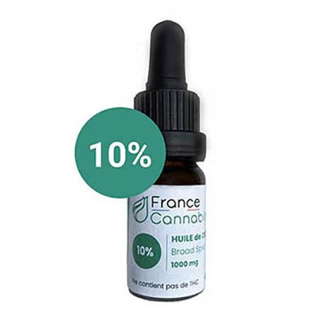 Huile CBD france 10% bio